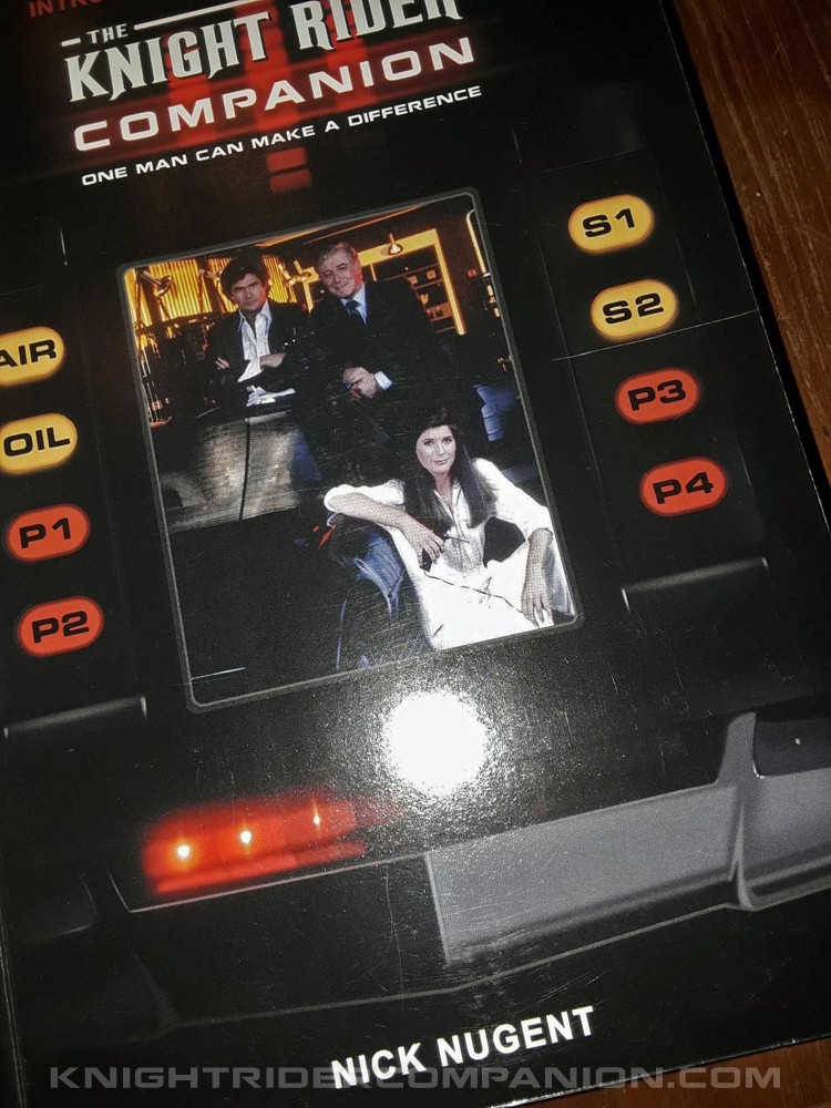 THE KNIGHT RIDER COMPANION BOOK